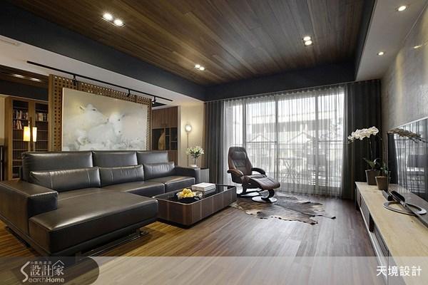 52坪新成屋(5年以下)_人文禪風客廳案例圖片_天境空間設計_天境_26之2