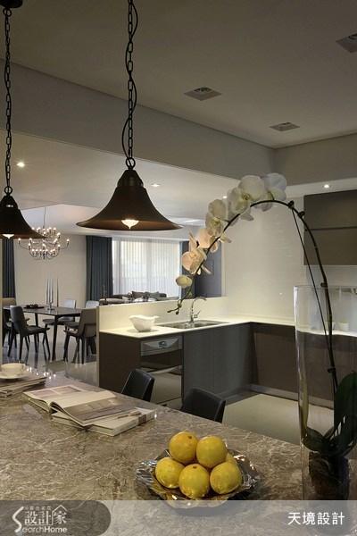 60坪新成屋(5年以下)_奢華風餐廳案例圖片_天境空間設計_天境_27之9