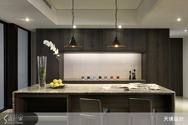 60坪新成屋(5年以下)_奢華風餐廳案例圖片_天境空間設計_天境_27之7