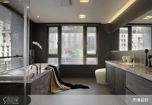 60坪新成屋(5年以下)_奢華風浴室案例圖片_天境空間設計_天境_27之16