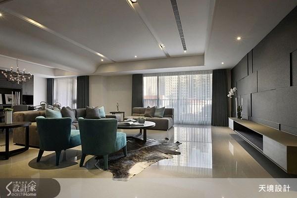 60坪新成屋(5年以下)_奢華風客廳案例圖片_天境空間設計_天境_27之2
