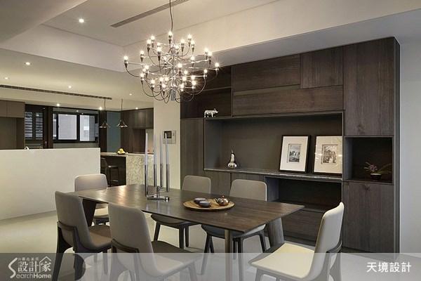 60坪新成屋(5年以下)_奢華風餐廳案例圖片_天境空間設計_天境_27之6
