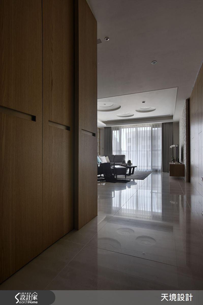 45坪新成屋(5年以下)_北歐風走廊案例圖片_天境空間設計_天境_31之1