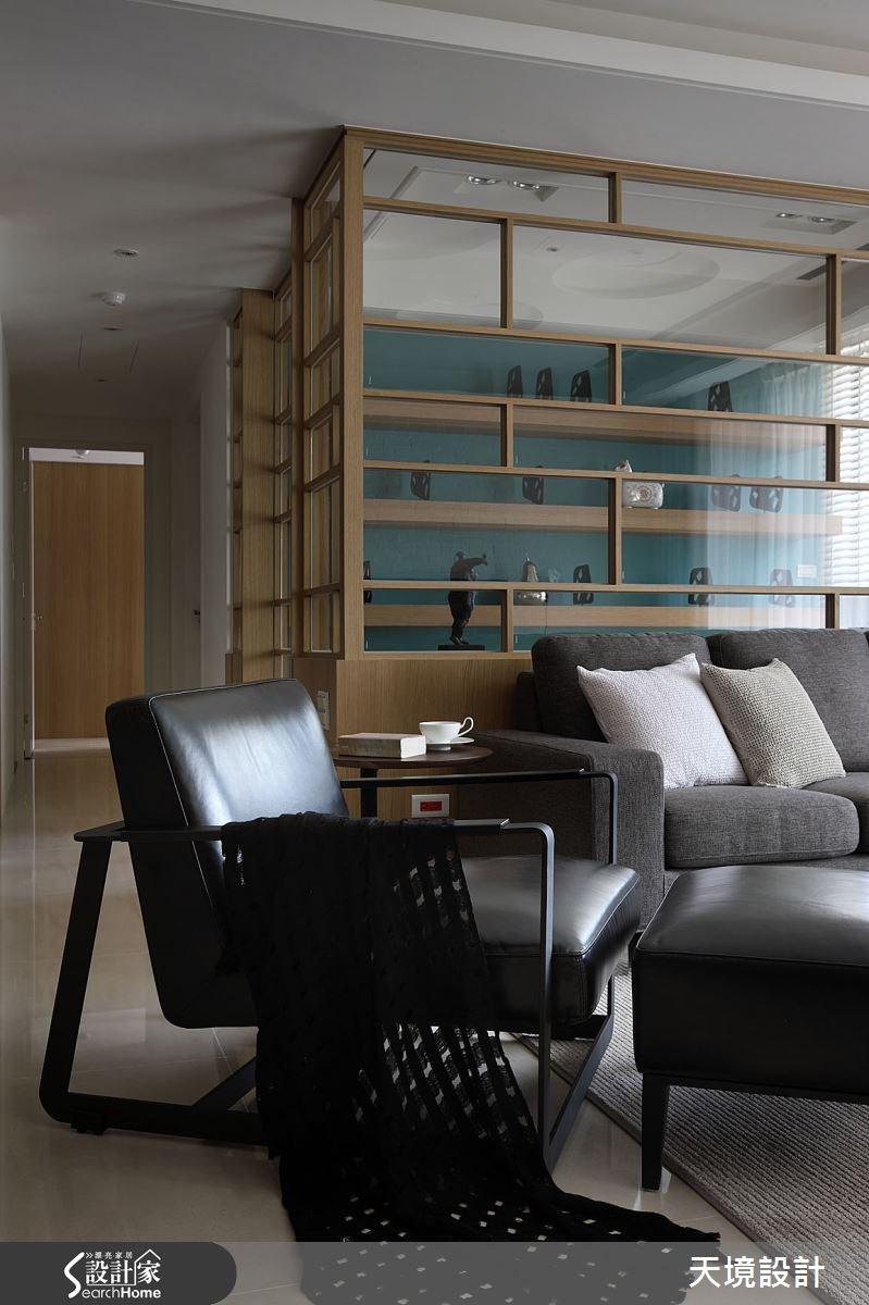 45坪新成屋(5年以下)_北歐風客廳案例圖片_天境空間設計_天境_31之4