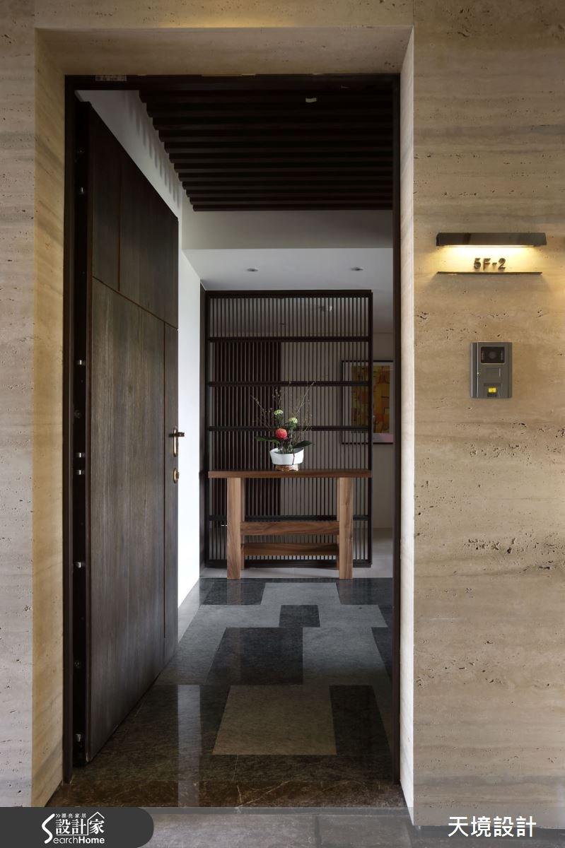 45坪新成屋(5年以下)_休閒風走廊案例圖片_天境空間設計_天境_32之1