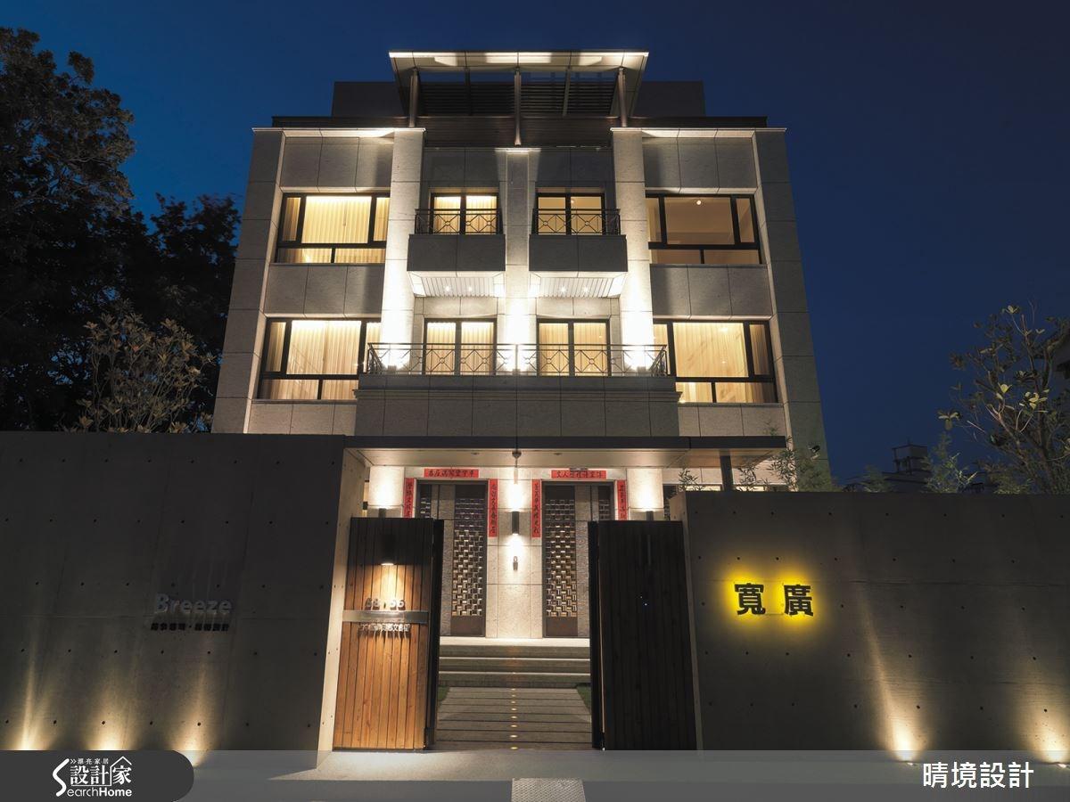 100坪新成屋(5年以下)_現代風案例圖片_晴境設計_晴境設計_01之1