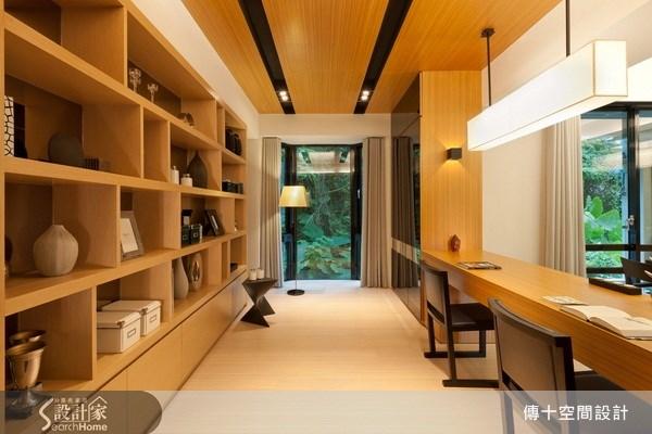 老屋(16~30年)_休閒風書房案例圖片_傳十空間設計_傳十_05之6