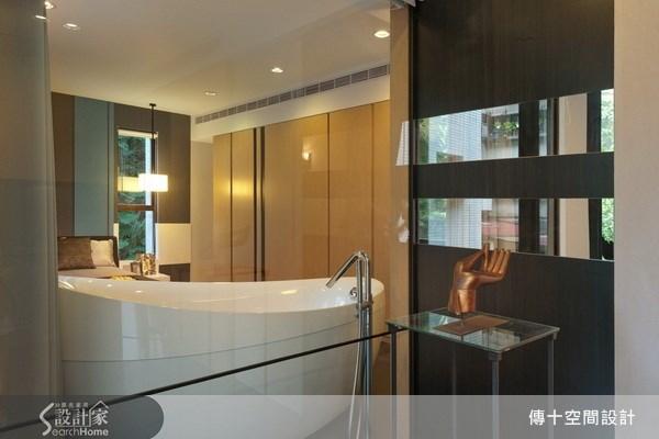 老屋(16~30年)_休閒風浴室案例圖片_傳十空間設計_傳十_05之11