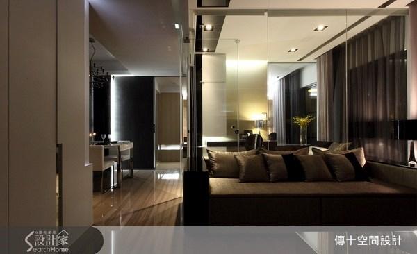 25坪新成屋(5年以下)_奢華風客廳案例圖片_傳十空間設計_傳十_06之5