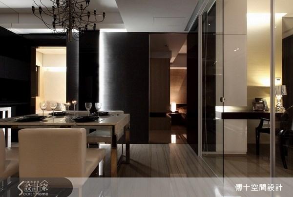 25坪新成屋(5年以下)_奢華風餐廳案例圖片_傳十空間設計_傳十_06之7