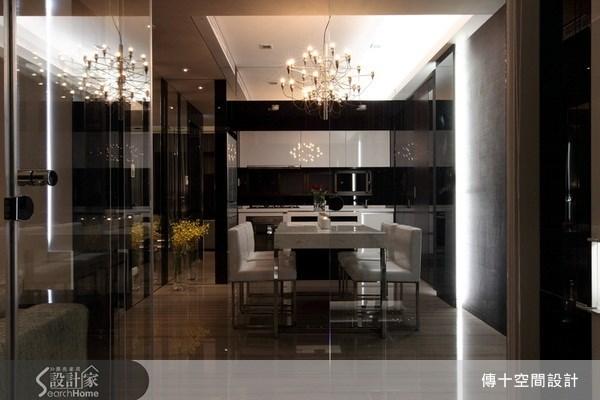25坪新成屋(5年以下)_奢華風餐廳案例圖片_傳十空間設計_傳十_06之8