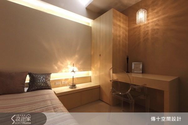 25坪新成屋(5年以下)_奢華風臥室案例圖片_傳十空間設計_傳十_06之11