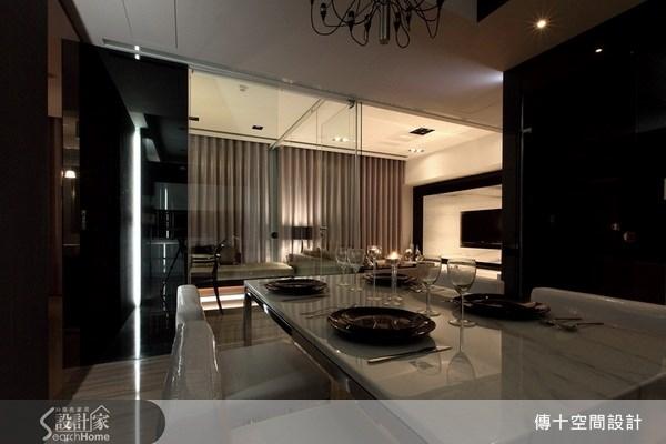 25坪新成屋(5年以下)_奢華風餐廳案例圖片_傳十空間設計_傳十_06之9