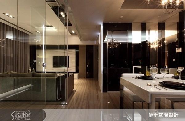 25坪新成屋(5年以下)_奢華風餐廳案例圖片_傳十空間設計_傳十_06之6