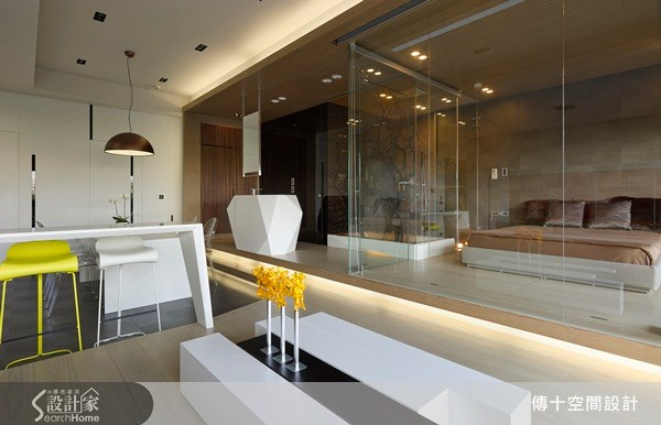 30坪新成屋(5年以下)_休閒風臥室案例圖片_傳十空間設計_傳十_07之7