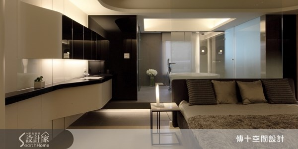 30坪中古屋(5~15年)_休閒風臥室案例圖片_傳十空間設計_傳十_12之6