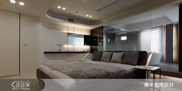 30坪中古屋(5~15年)_休閒風臥室案例圖片_傳十空間設計_傳十_12之4