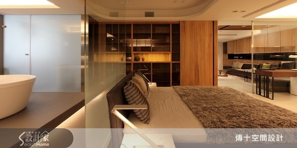 30坪中古屋(5~15年)_休閒風臥室案例圖片_傳十空間設計_傳十_12之7