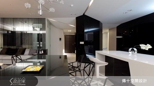 70坪新成屋(5年以下)_現代風餐廳案例圖片_傳十空間設計_傳十_13之4