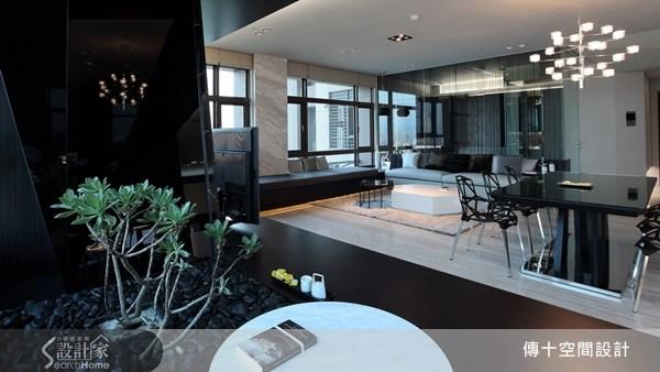 70坪新成屋(5年以下)_現代風餐廳案例圖片_傳十空間設計_傳十_13之2