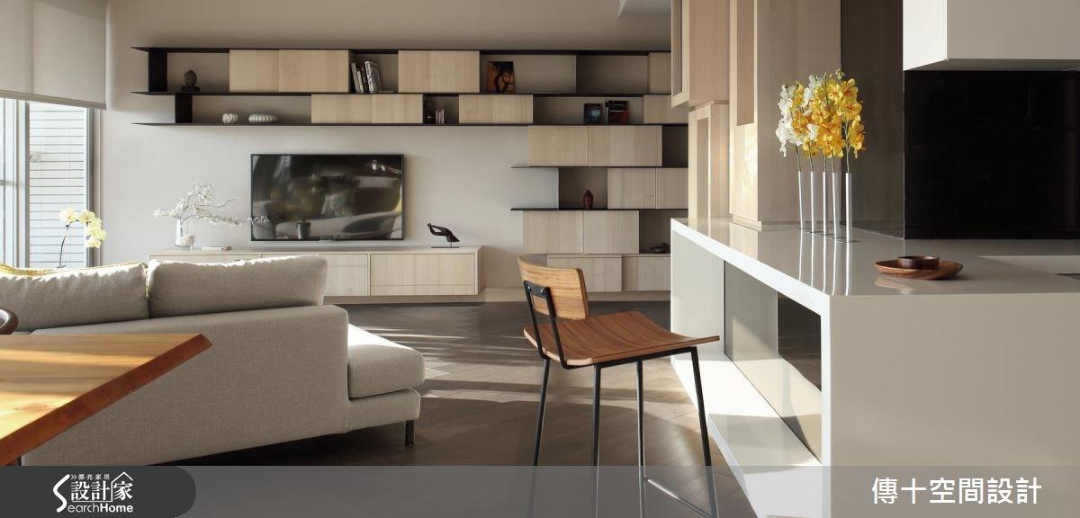 40坪新成屋(5年以下)_休閒風案例圖片_傳十空間設計_傳十_15之2