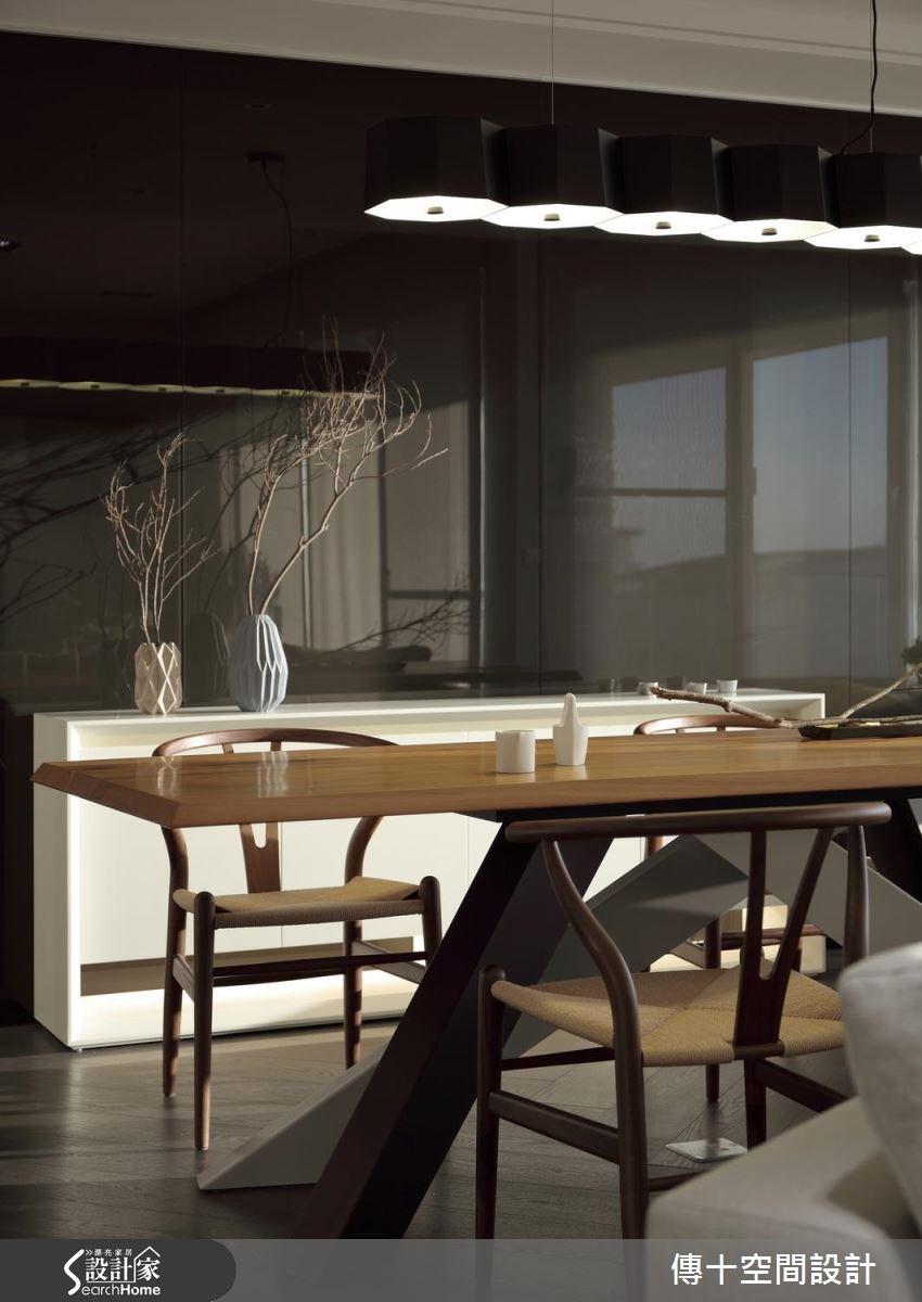 40坪新成屋(5年以下)_休閒風案例圖片_傳十空間設計_傳十_15之6