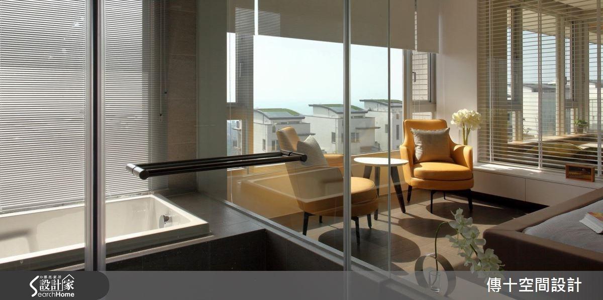 40坪新成屋(5年以下)_休閒風案例圖片_傳十空間設計_傳十_15之9