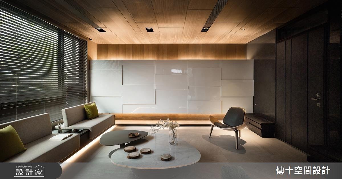 85坪新成屋(5年以下)_休閒風客廳案例圖片_傳十空間設計_傳十_16之1