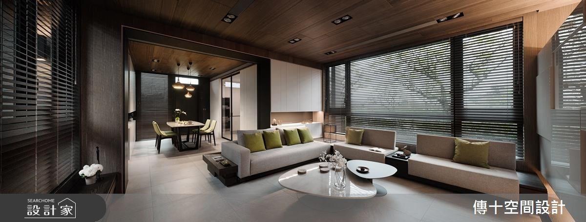 85坪新成屋(5年以下)_休閒風客廳案例圖片_傳十空間設計_傳十_16之4