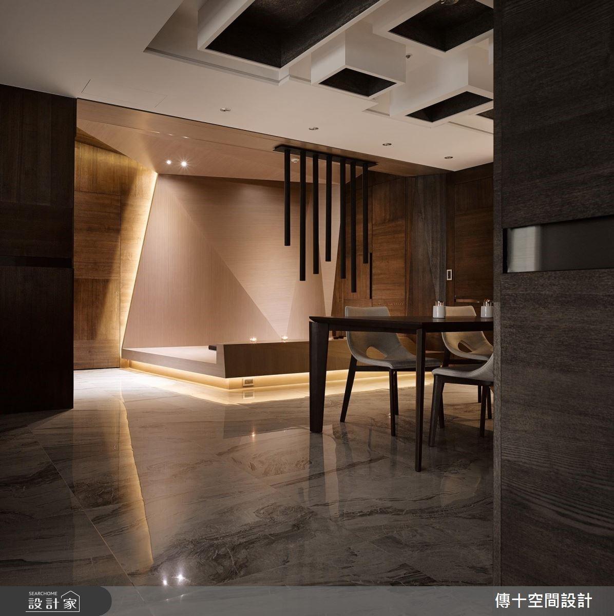 70坪新成屋(5年以下)_現代風餐廳案例圖片_傳十空間設計_傳十_21之2