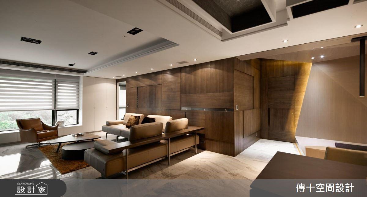 70坪新成屋(5年以下)_現代風客廳案例圖片_傳十空間設計_傳十_21之4