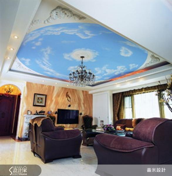抬眼即見湛藍天空!文藝復興式的古典風奢華大宅