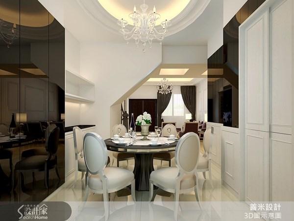 120坪新成屋(5年以下)_新古典餐廳案例圖片_善米設計有限公司_善米_07之3
