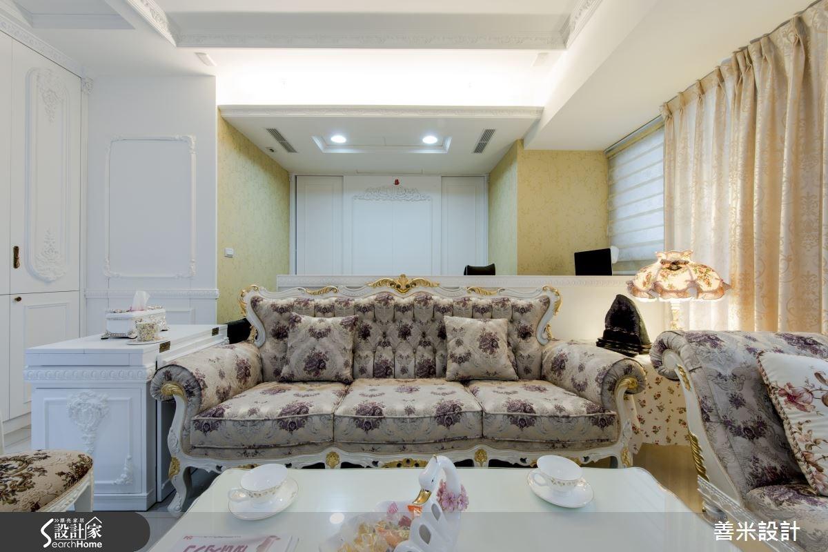 14坪新成屋(5年以下)_新古典客廳案例圖片_善米設計有限公司_善米_12之11