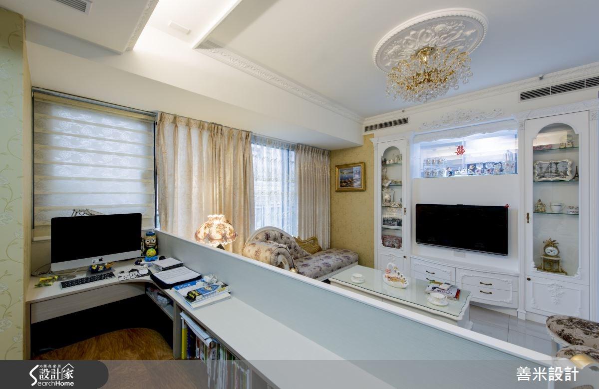 14坪新成屋(5年以下)_新古典客廳案例圖片_善米設計有限公司_善米_12之15