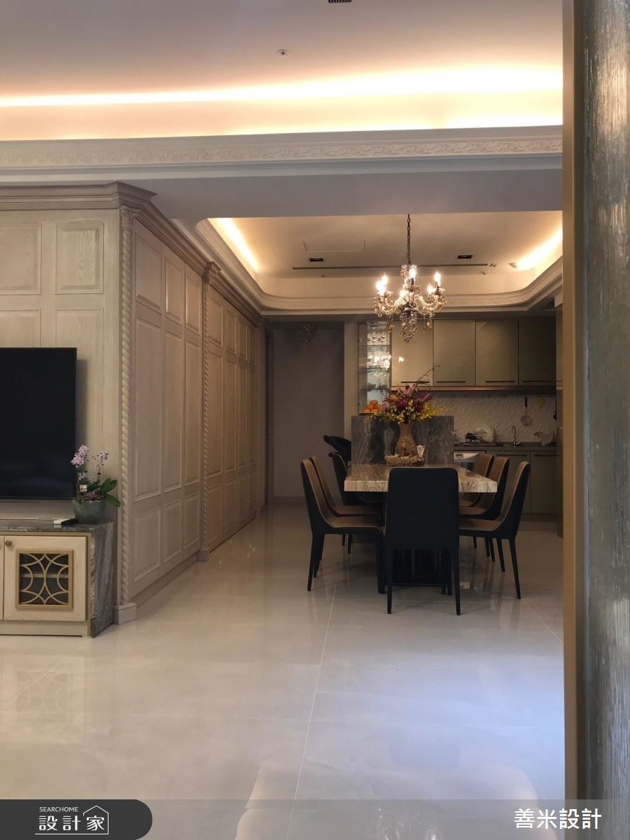 40坪新成屋(5年以下)_混搭風餐廳案例圖片_善米設計有限公司_善米_15之6