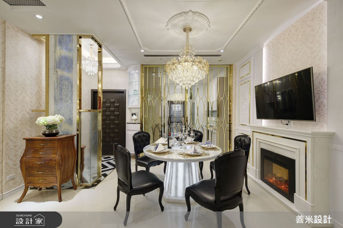 30坪中古屋(5~15年)_古典風餐廳案例圖片_善米設計有限公司_善米_18之3