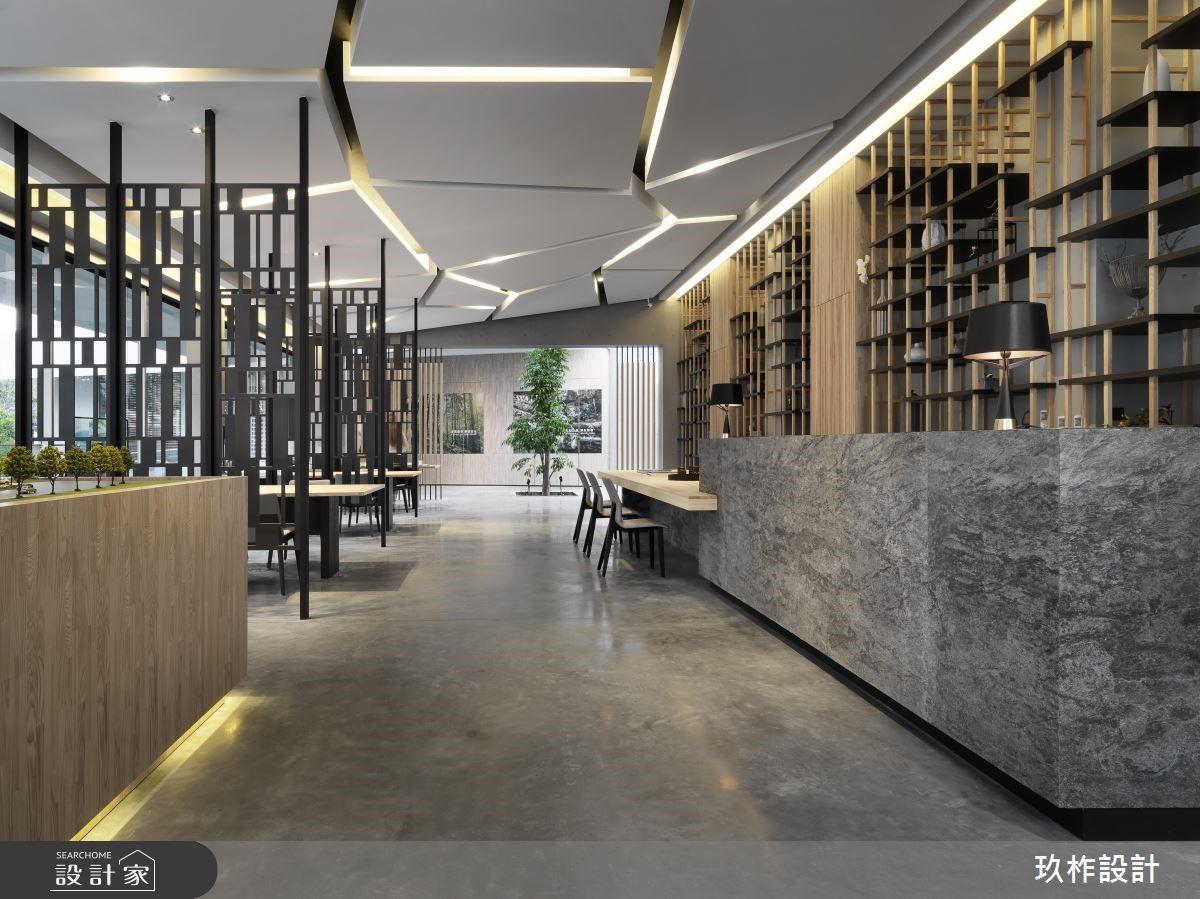80坪新成屋(5年以下)_現代風商業空間案例圖片_玖柞設計_玖柞_01之2