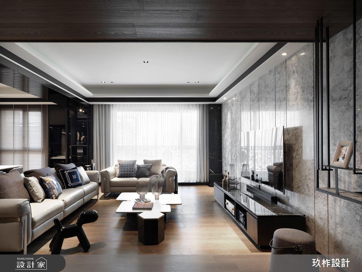 50坪新成屋(5年以下)_現代風案例圖片_玖柞設計_玖柞_16之1