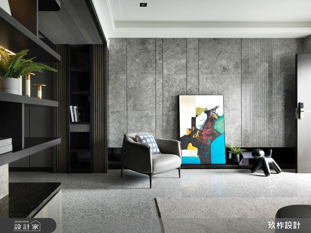 新成屋(5年以下)_現代風客廳案例圖片_玖柞設計_玖柞_23之3