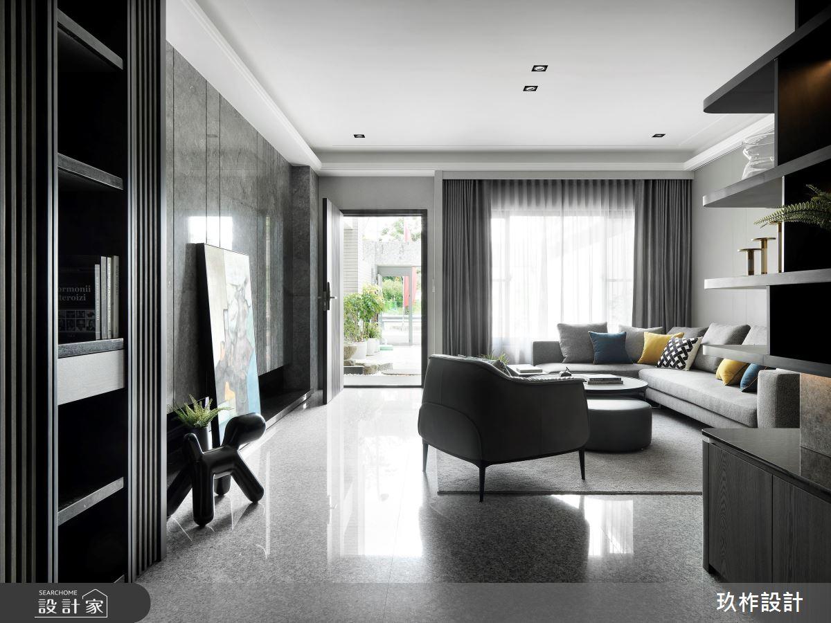 新成屋(5年以下)_現代風客廳案例圖片_玖柞設計_玖柞_23之4
