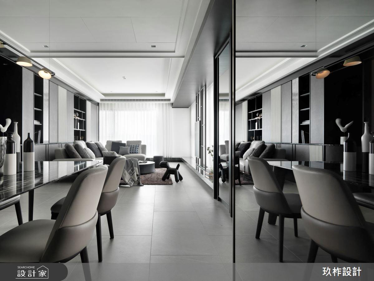 40坪新成屋(5年以下)_現代風餐廳案例圖片_玖柞設計_玖柞_28之3