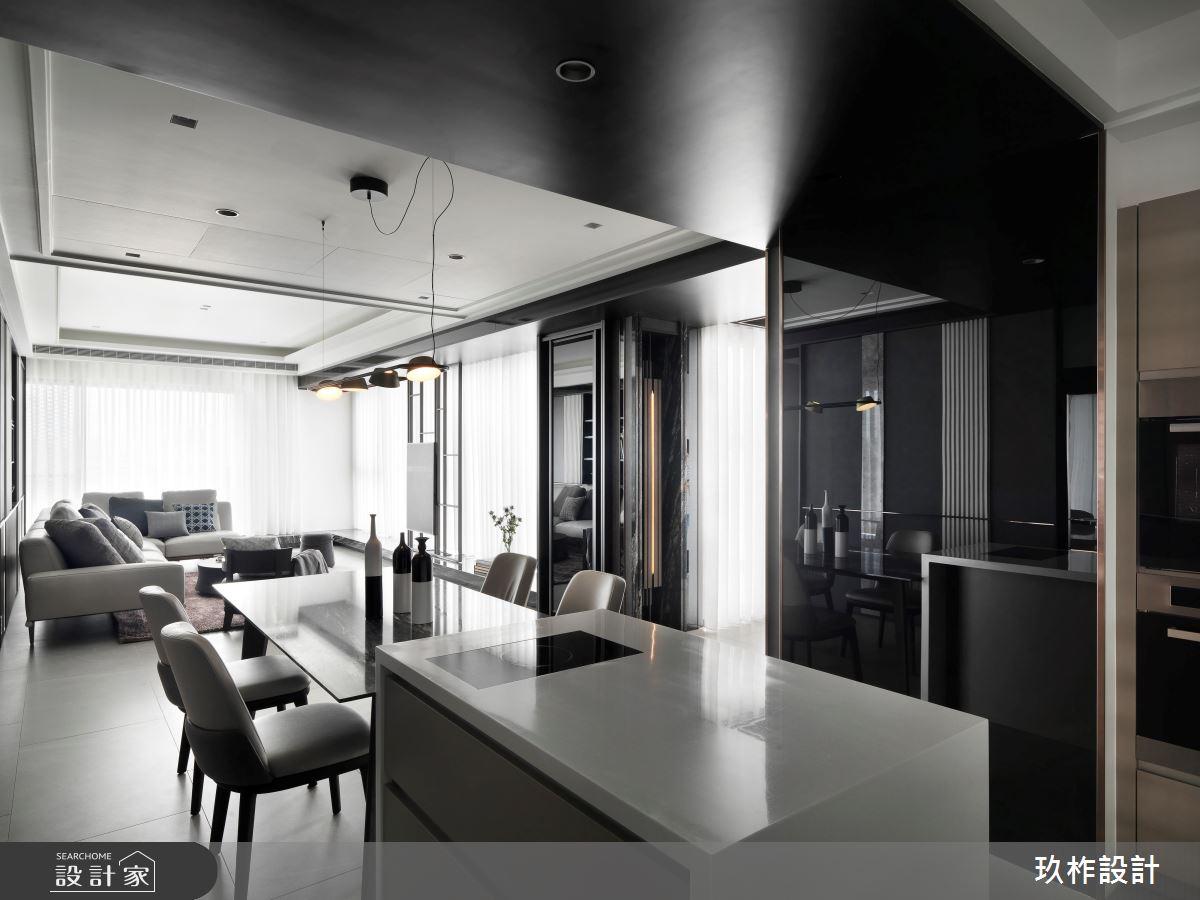 40坪新成屋(5年以下)_現代風餐廳案例圖片_玖柞設計_玖柞_28之4