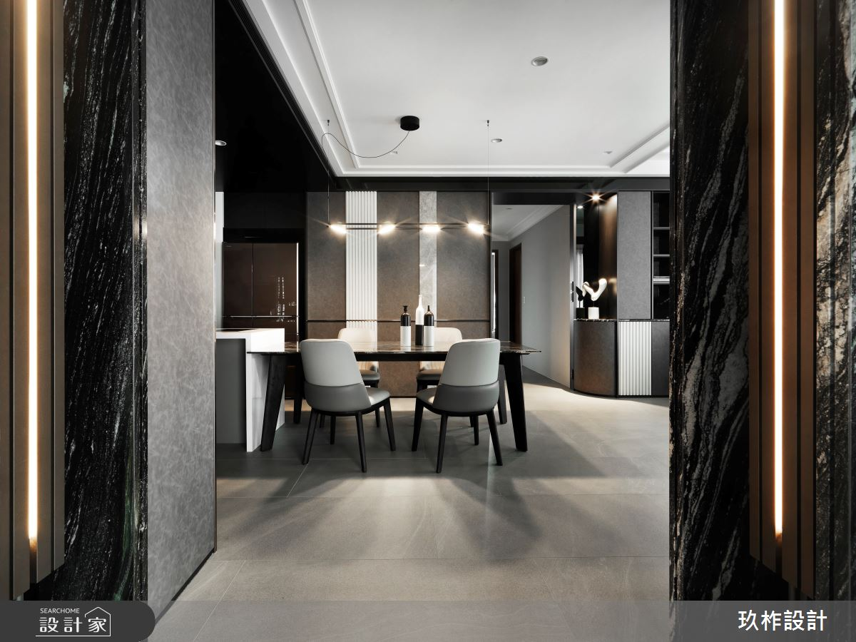40坪新成屋(5年以下)_現代風餐廳案例圖片_玖柞設計_玖柞_28之2