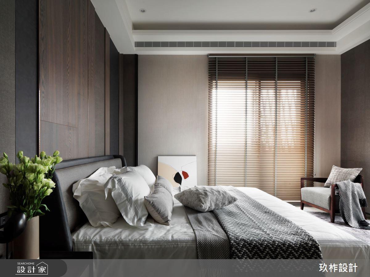 40坪新成屋(5年以下)_現代風臥室案例圖片_玖柞設計_玖柞_28之6