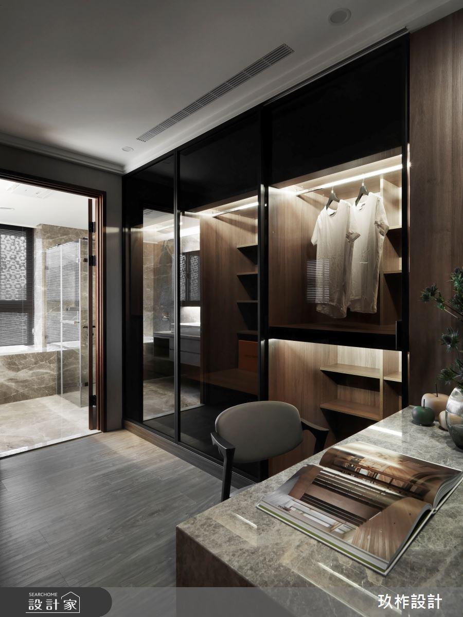 40坪新成屋(5年以下)_現代風更衣間案例圖片_玖柞設計_玖柞_28之7