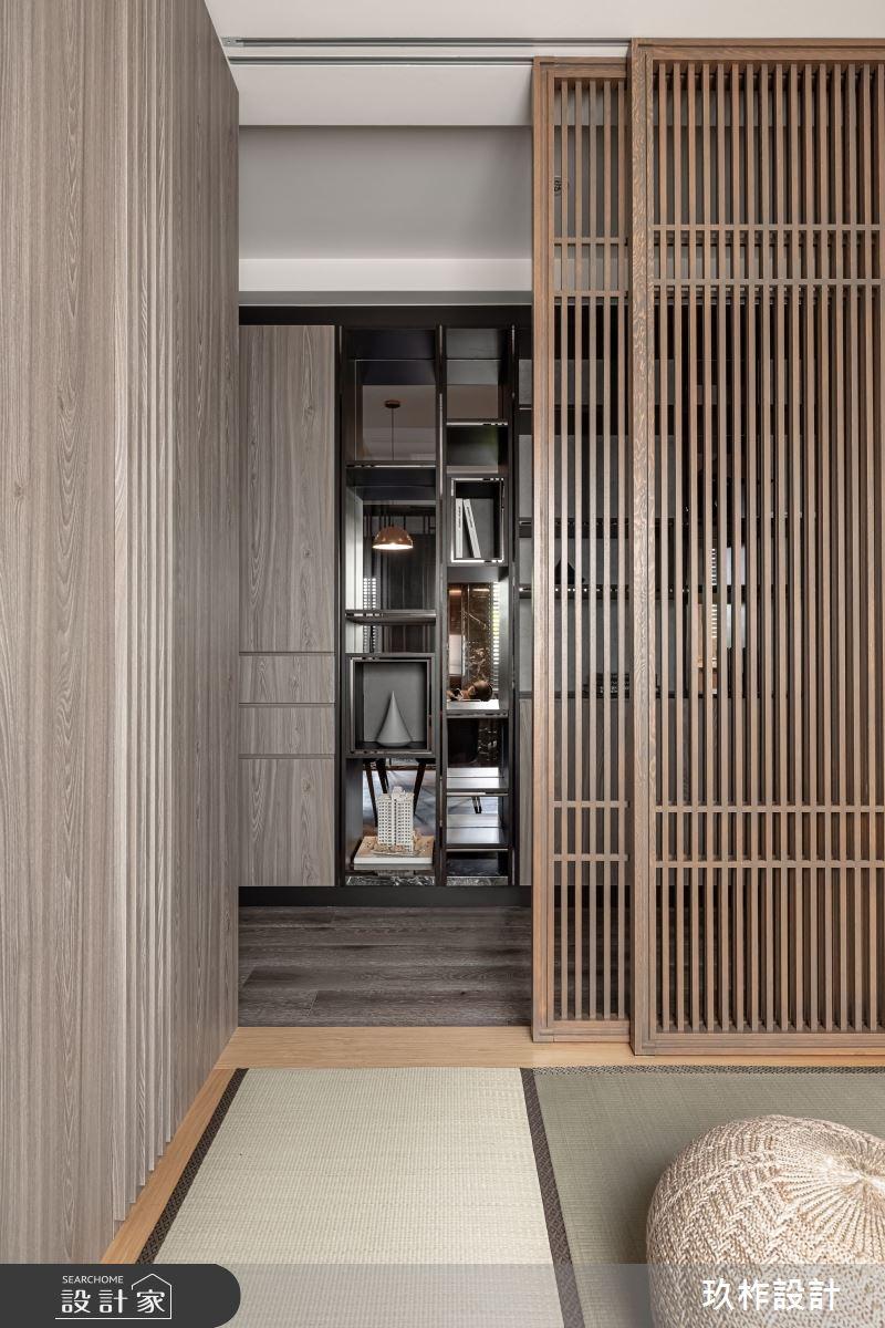 67坪老屋(16~30年)_現代風臥室和室走廊案例圖片_玖柞設計_玖柞_29之14