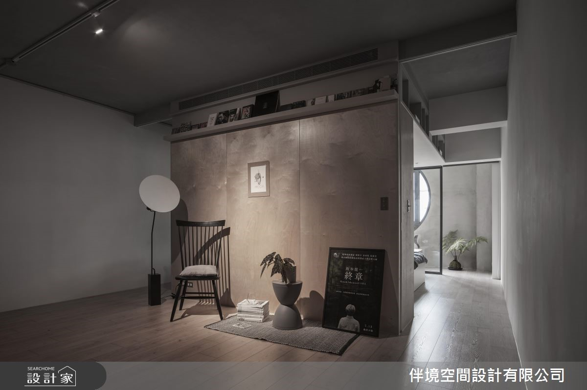 20坪老屋(16~30年)_混搭風臥室案例圖片_伴境空間設計有限公司_伴境_03之1
