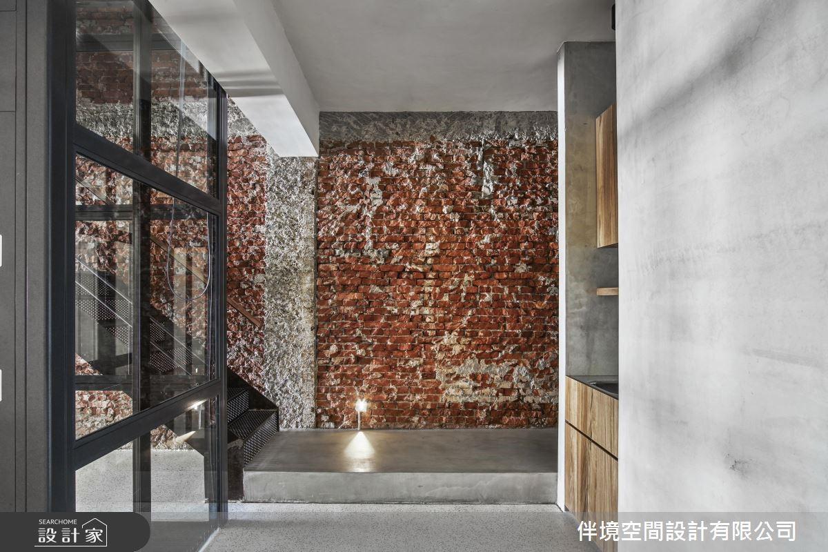 100坪老屋(16~30年)_混搭風樓梯案例圖片_伴境空間設計有限公司_伴境_04之2