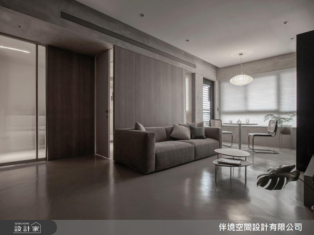 20坪新成屋(5年以下)_混搭風客廳案例圖片_伴境空間設計有限公司_伴境_06之3